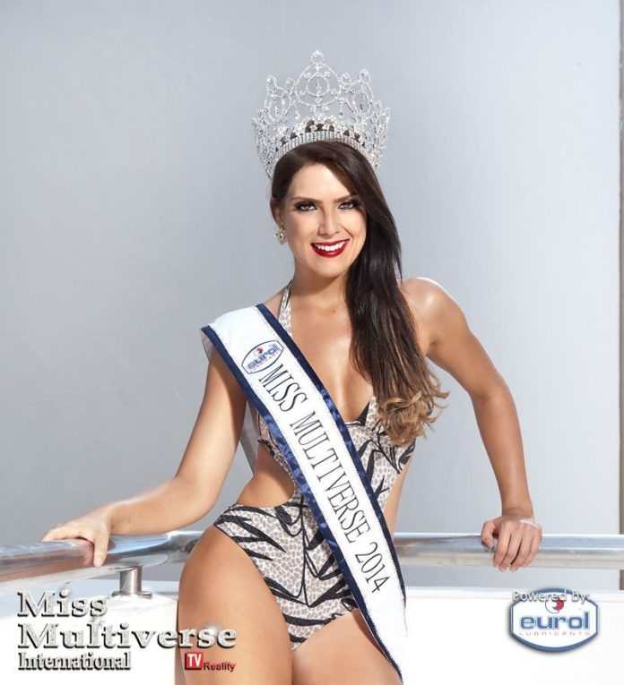Debora Lyra Winner of Miss Multiverse 2015