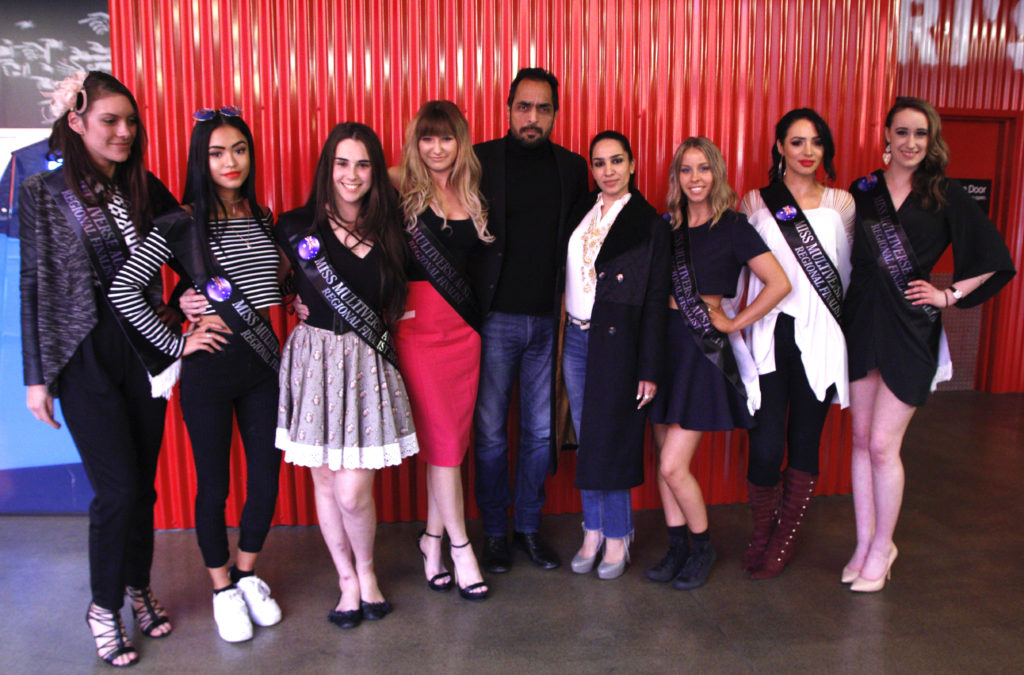 Miss Multiverse Australia VIC Finalists and Judges