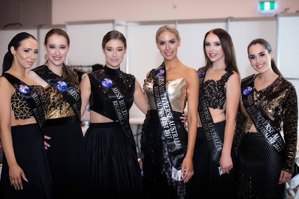 Miss Multiverse Australia VIC finalists
