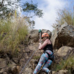 Miss Multiverse QLD Rock Climbing