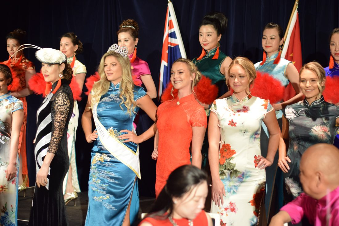 Models at Australia Qipao Business Awards