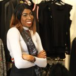 Helen Mangar Shopping at Wesson Boutique