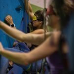 Climbing with Green Frog Adventures