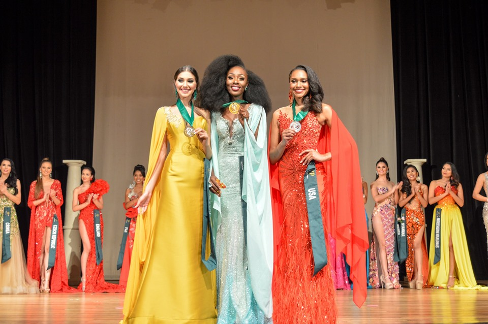 72341805 2542425239175519 1034891637194489856 n - Ghana is Miss Earth 2019 Air group best in long gown