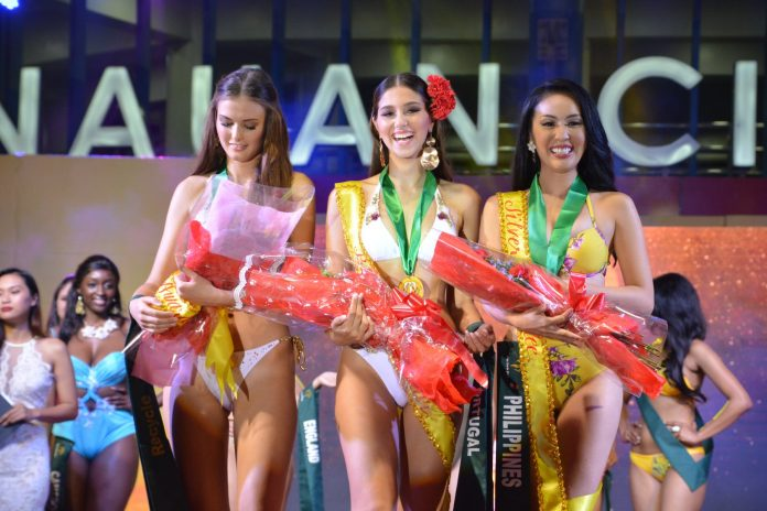 73030717 415266179187874 5386295881500721152 o 696x464 - Portugal is Miss Earth 2019 Air group best in swimsuit