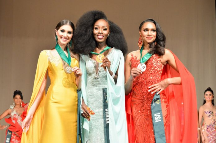 73087563 2542425015842208 8537599290216808448 n 696x462 - Ghana is Miss Earth 2019 Air group best in long gown
