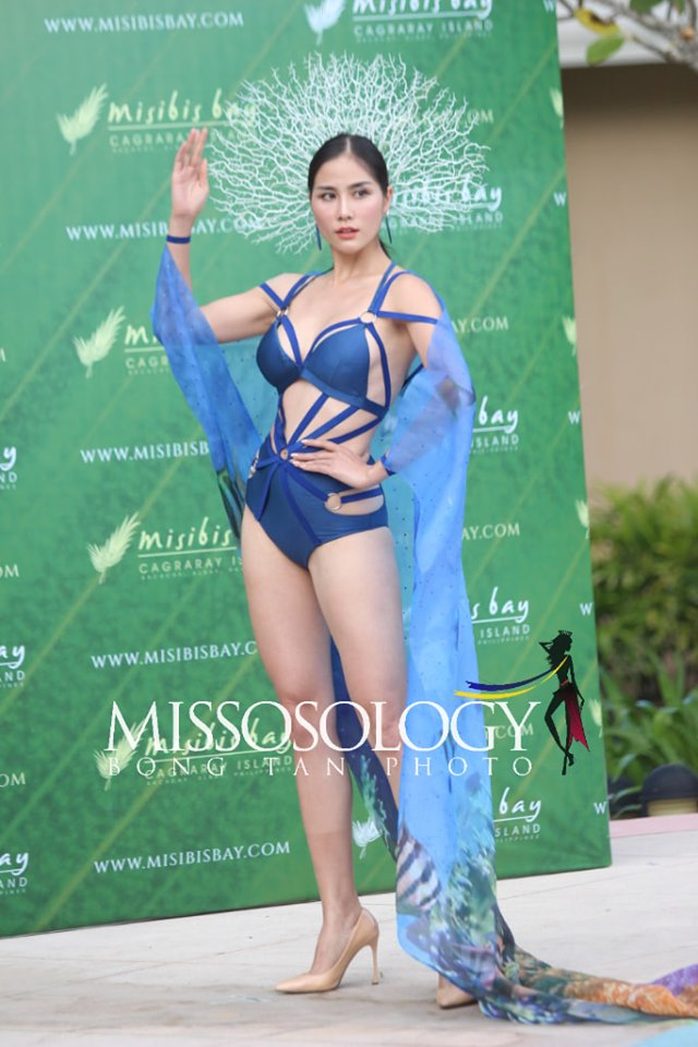 75233536 3063078950375015 5829919802214318080 n - Miss Earth 2019: Vietnam is Water group best in resort put on; Netherlands named 'Flora of Misibis Bay'