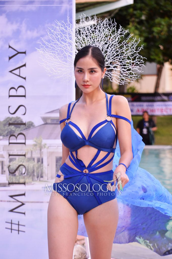 DSC 0751 681x1024 - Miss Earth 2019: Vietnam is Water group best in resort put on; Netherlands named 'Flora of Misibis Bay'